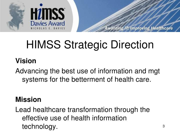 HIMSS Strategic Direction
