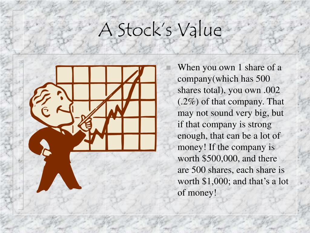 A Stock's Value