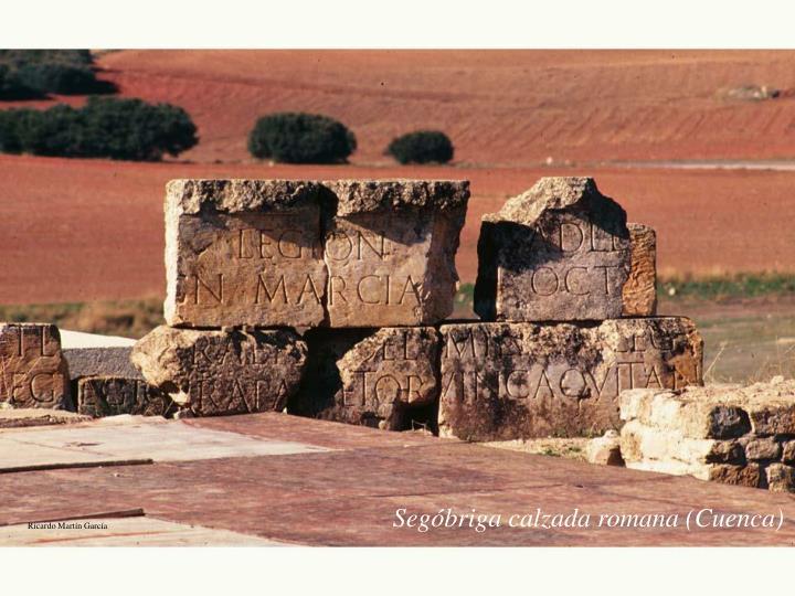 Segóbriga calzada romana (Cuenca)