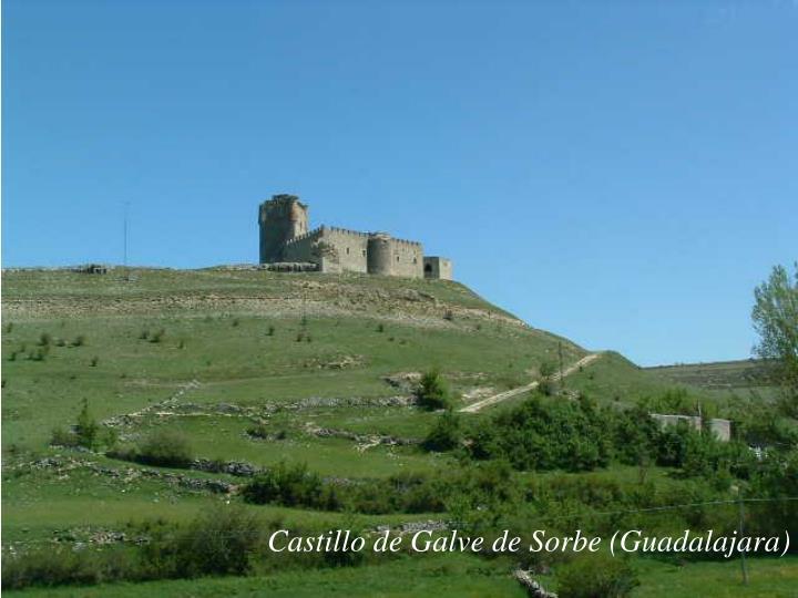 Castillo de Galve de Sorbe (Guadalajara)