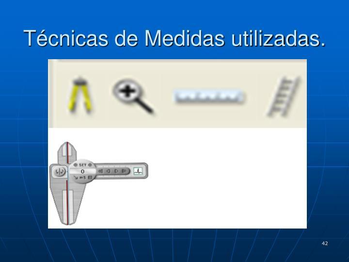 Técnicas de Medidas utilizadas.