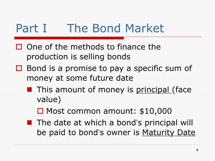 Part I     The Bond Market