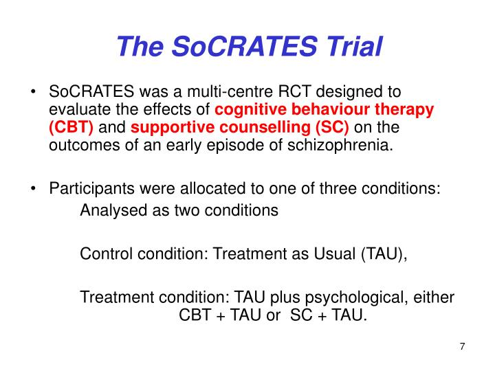 The SoCRATES Trial