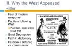 iii why the west appeased hitler