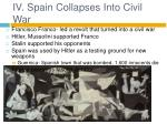 iv spain collapses into civil war