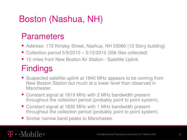 Boston (Nashua, NH)
