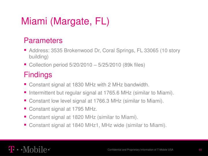 Miami (Margate, FL)