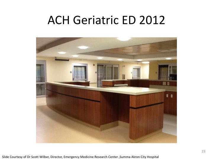 ACH Geriatric ED 2012