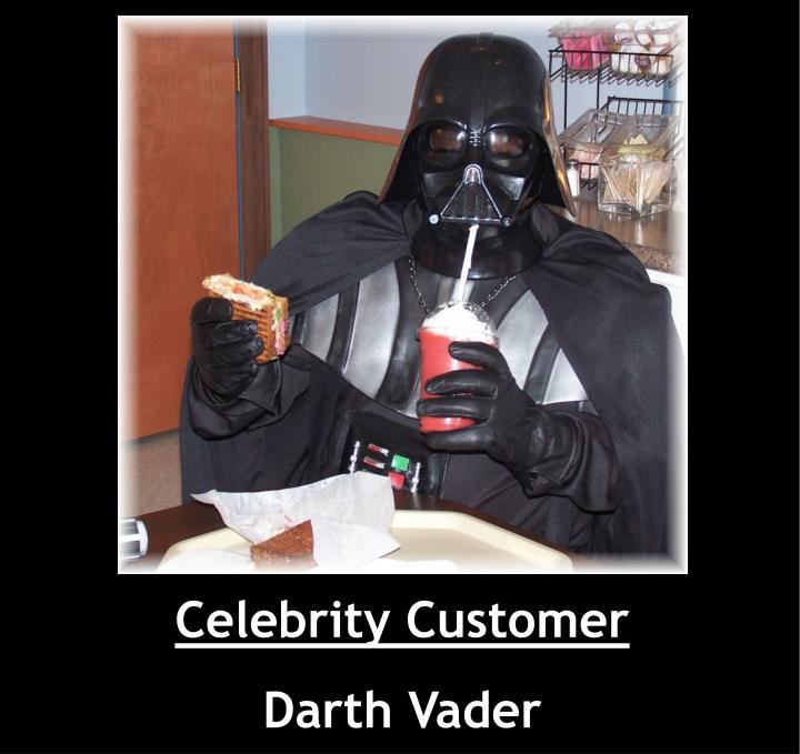 Celebrity Customer