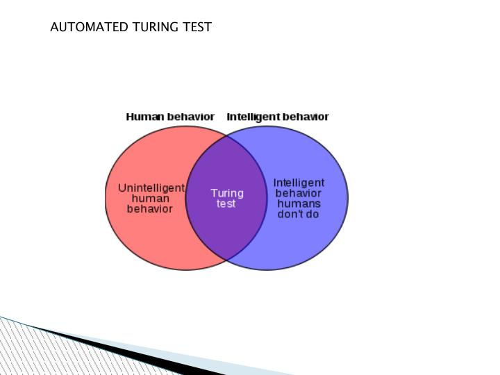 AUTOMATED TURING TEST