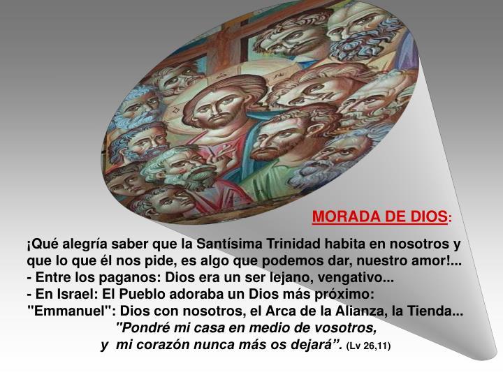 MORADA DE DIOS