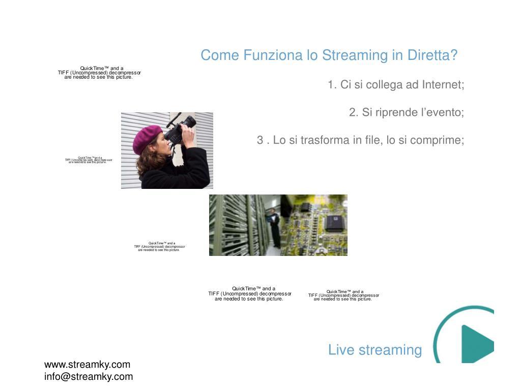 Come Funziona lo Streaming in Diretta?