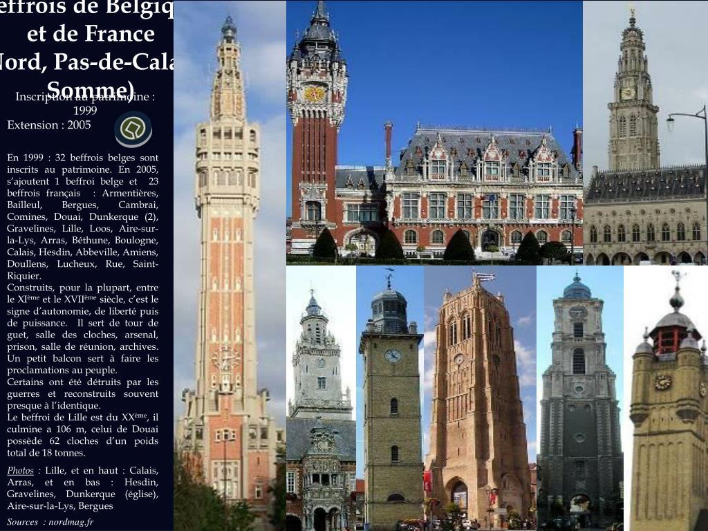 Beffrois de Belgique et de France