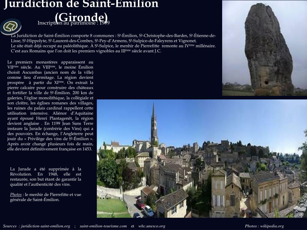 Juridiction de Saint-Émilion (Gironde)