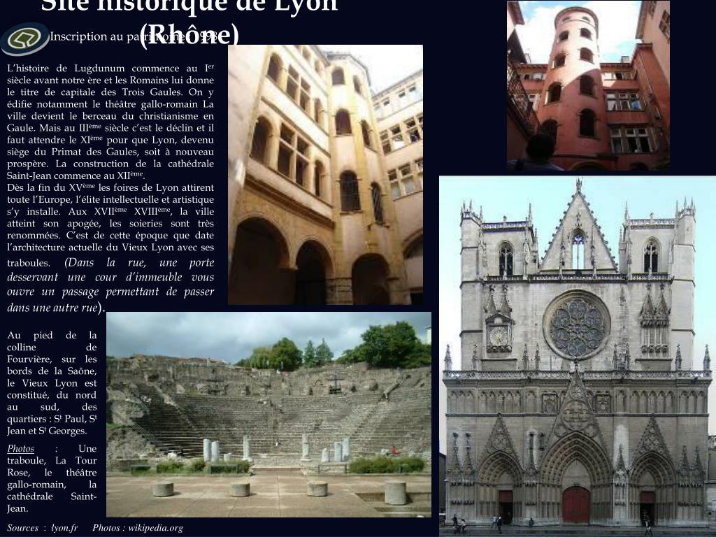 Site historique de Lyon (Rhône)