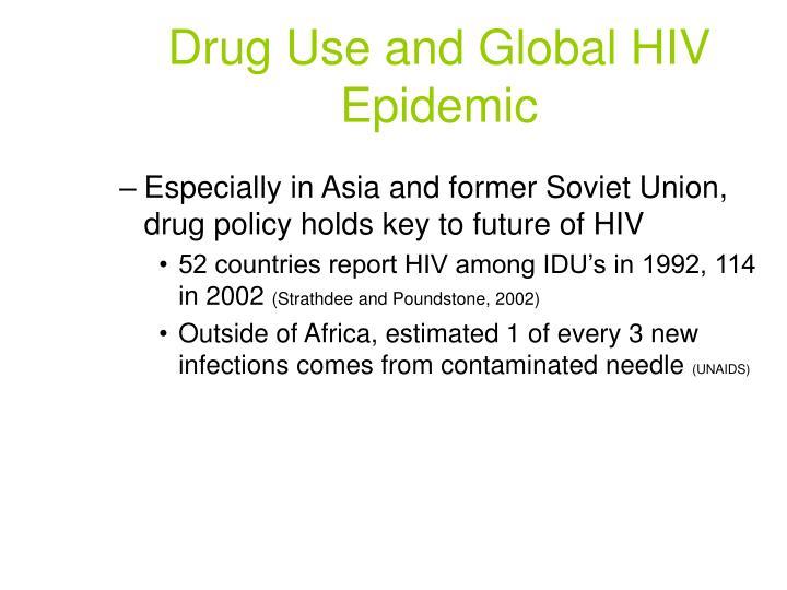Drug Use and Global HIV Epidemic