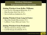 weichert welcomes experienced sales associates1