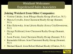 weichert welcomes experienced sales associates3