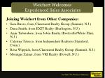 weichert welcomes experienced sales associates5