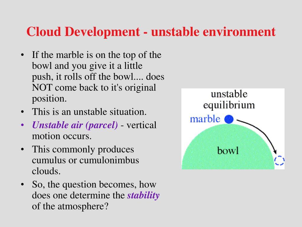 Cloud Development - unstable environment