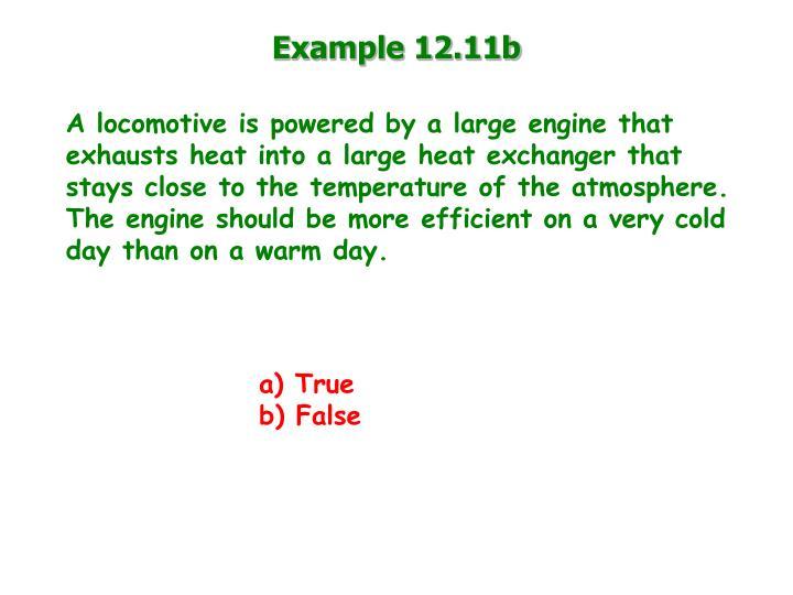 Example 12.11b