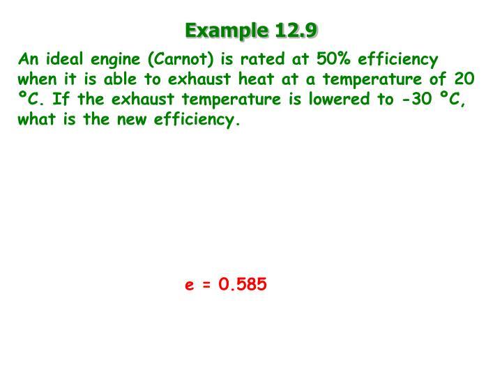 Example 12.9