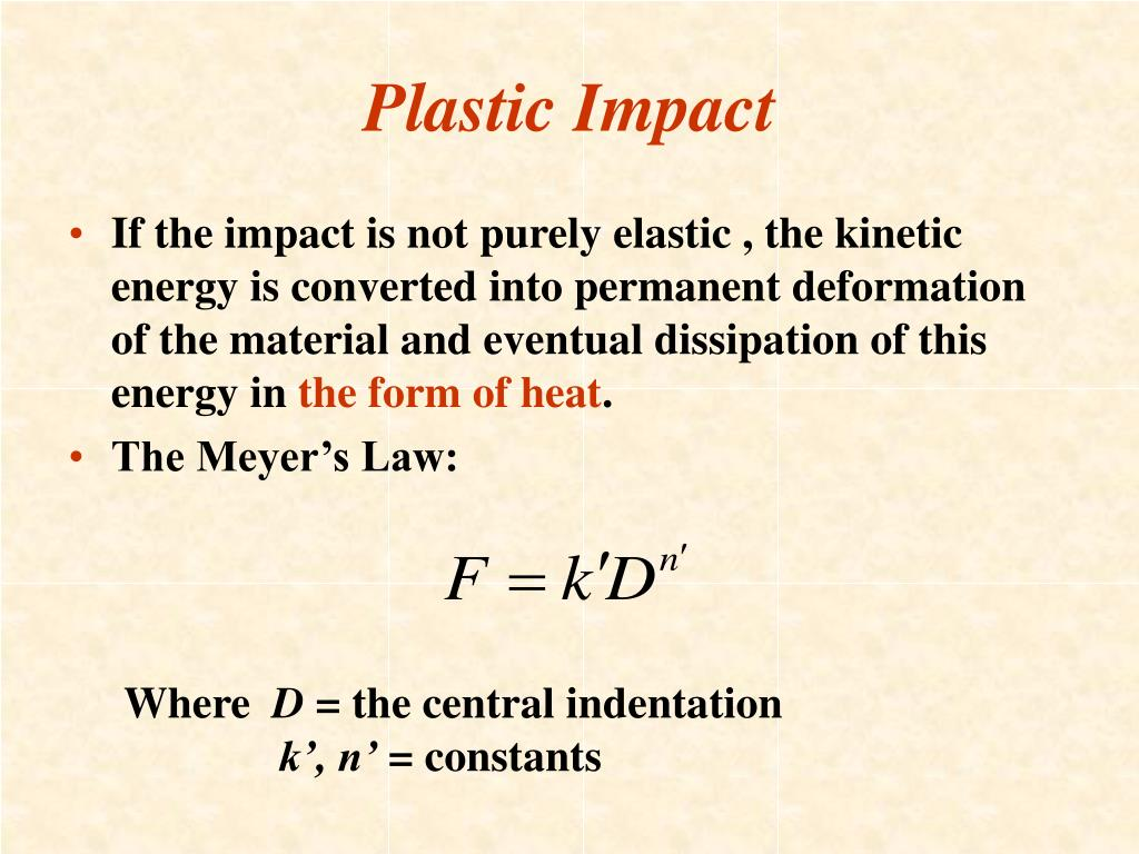 Plastic Impact