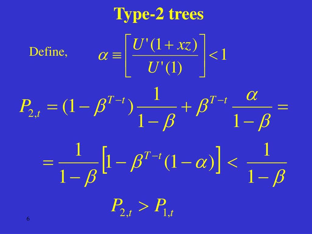 Type-2 trees