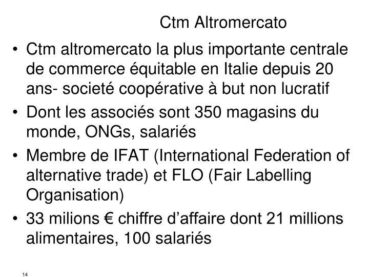 Ctm Altromercato