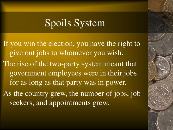 Nast: Spoils System Photograph by Granger |Spoils System Today