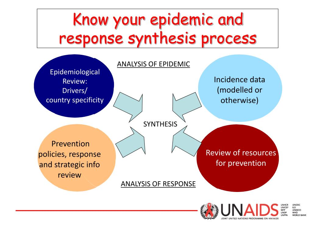 Know your epidemic and response synthesis process