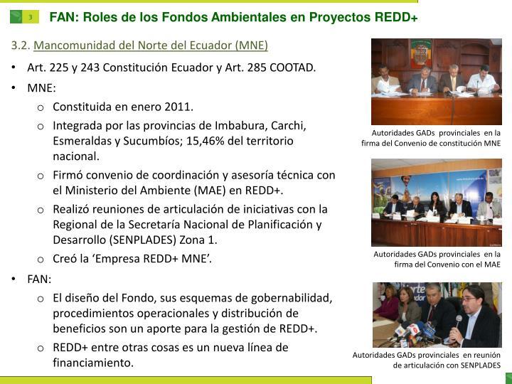 FAN: Roles de los Fondos Ambientales en Proyectos REDD+