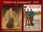 postere de propagand 1914