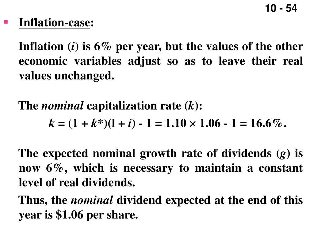 Inflation-case