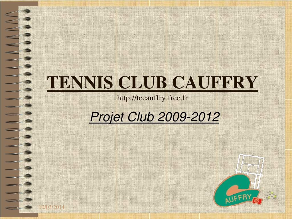 TENNIS CLUB CAUFFRY