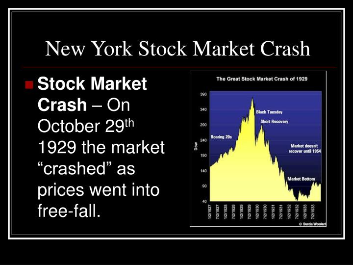 New York Stock Market Crash