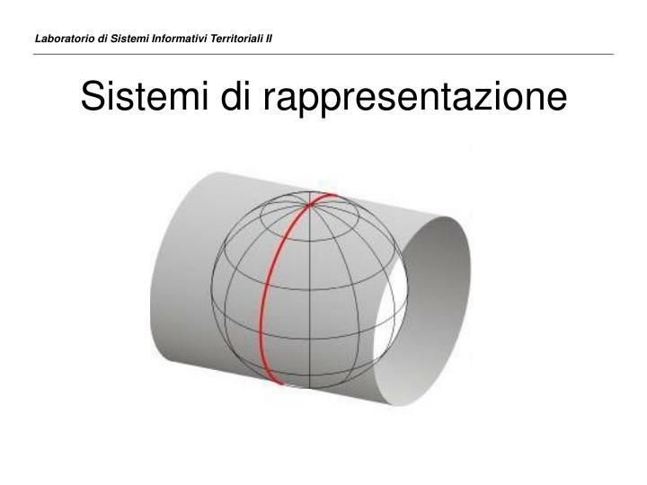Sistemi di rappresentazione