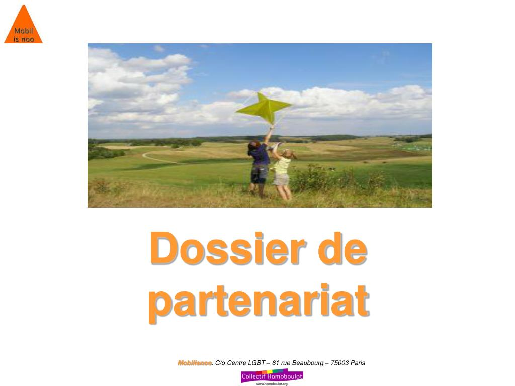 Dossier de partenariat