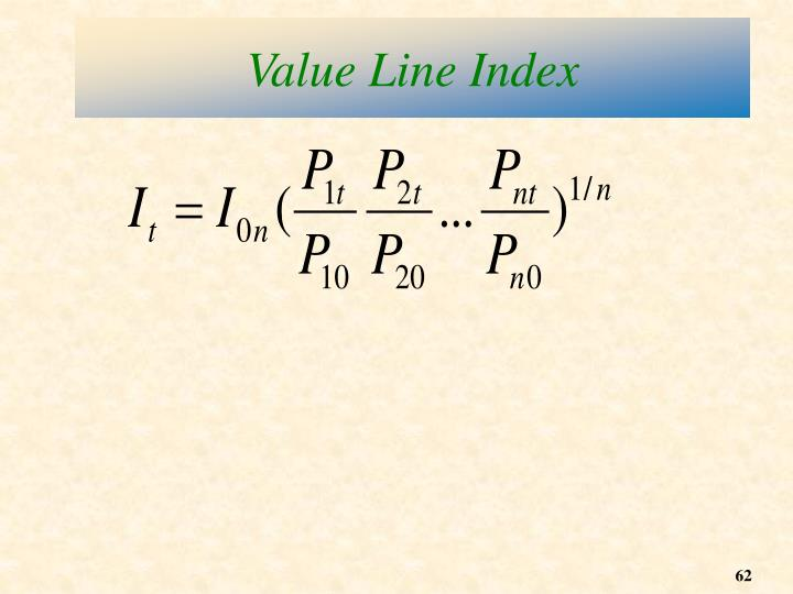 Value Line Index