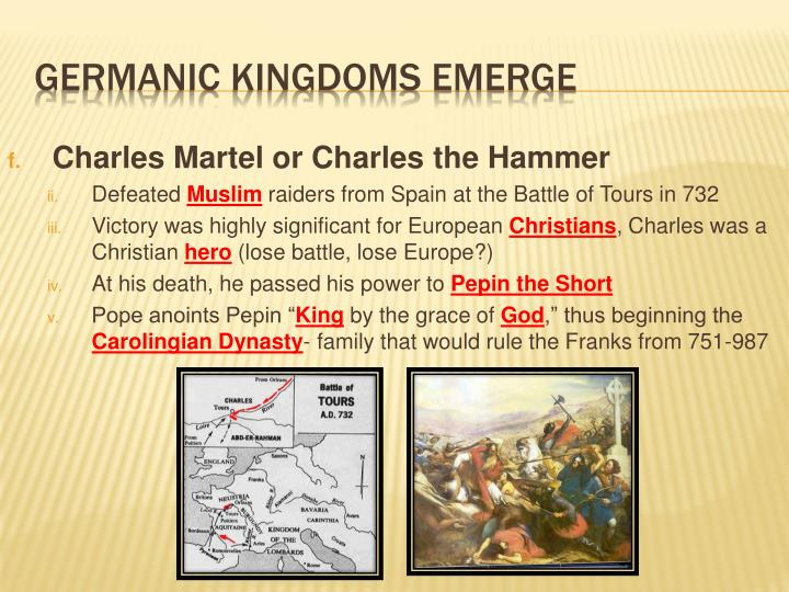 Charles Martel or Charles