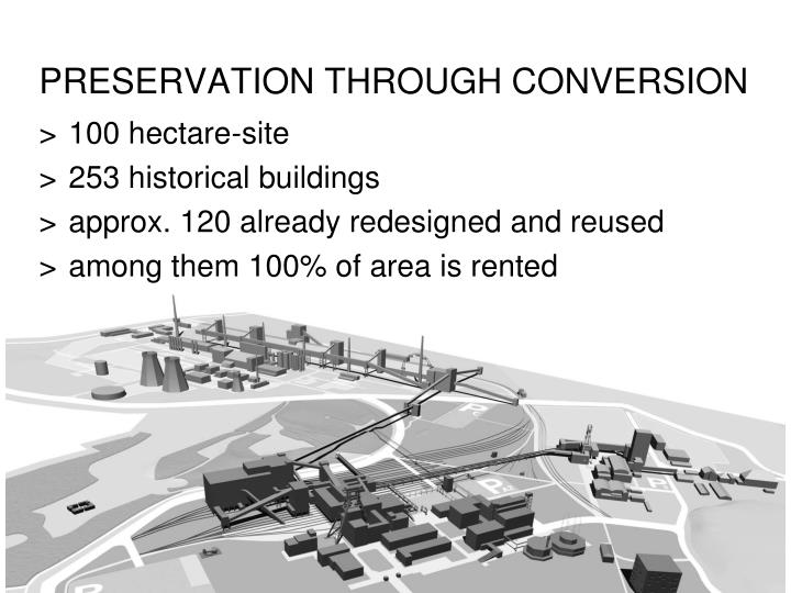 PRESERVATION THROUGH CONVERSION