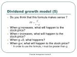 dividend growth model 5