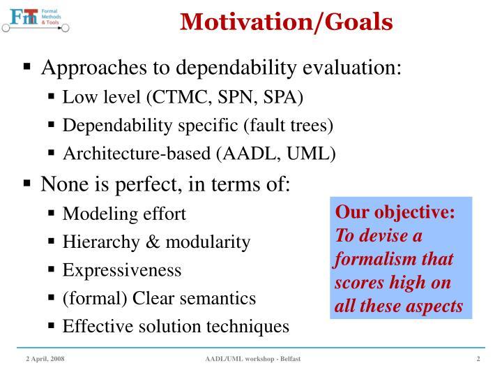 Motivation/Goals