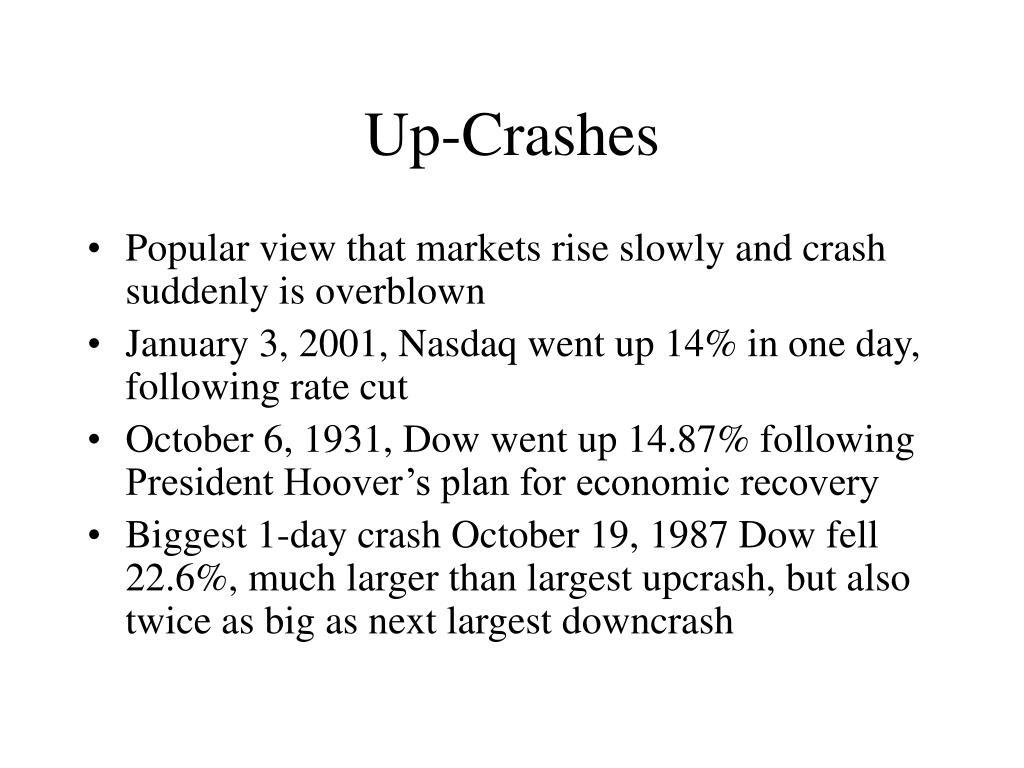Up-Crashes