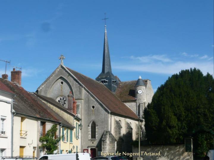 Eglise de Nogent l'Artaud.