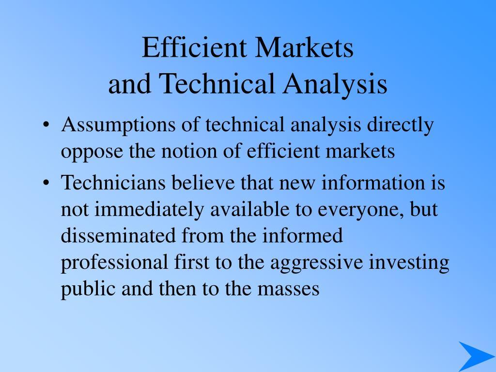 Efficient Markets