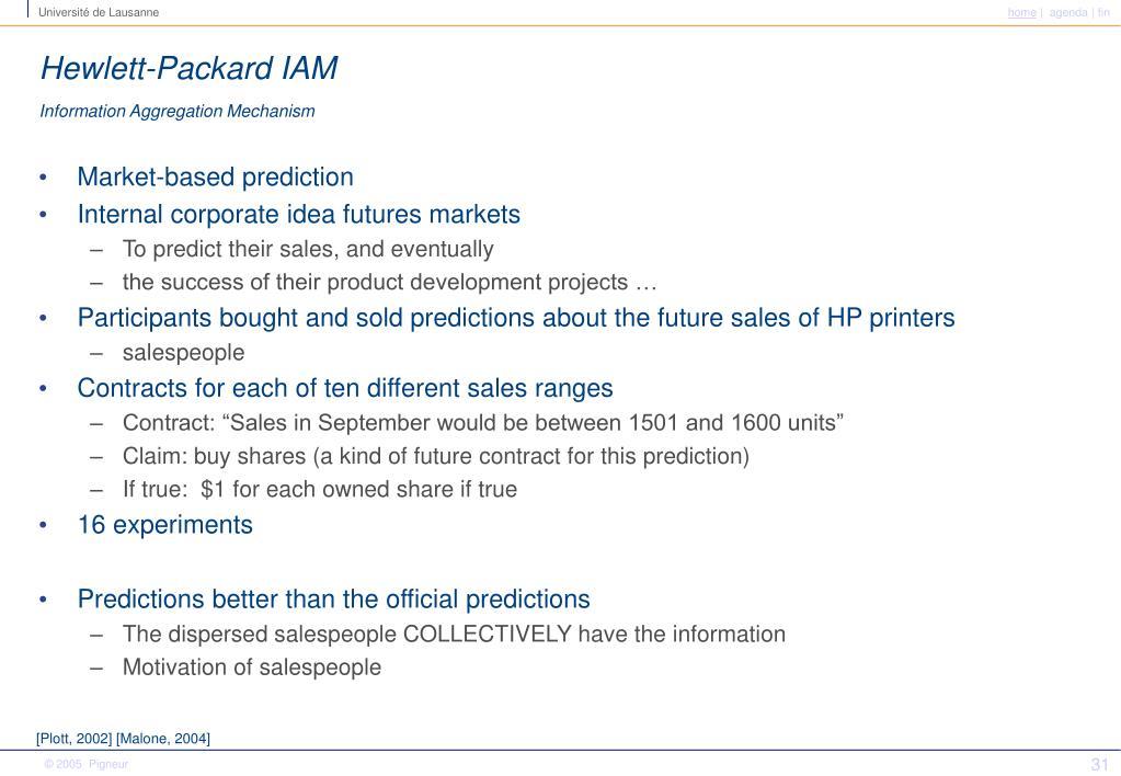 Hewlett-Packard IAM