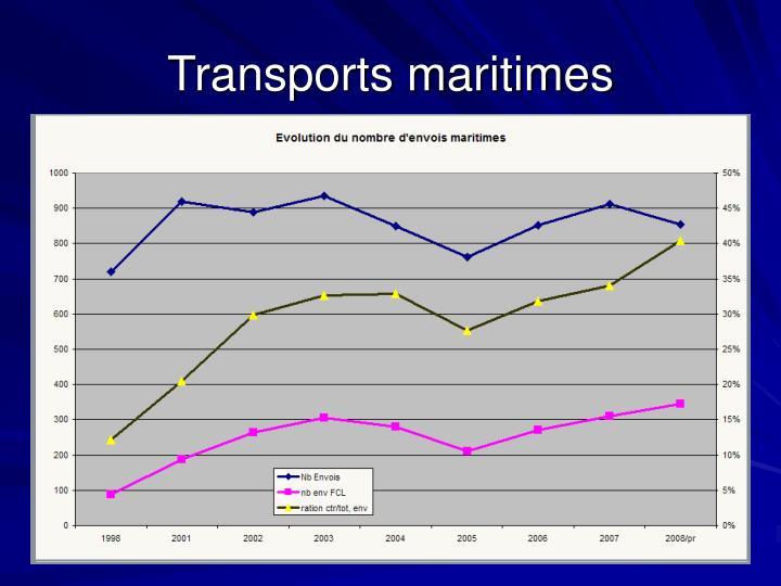 Transports maritimes
