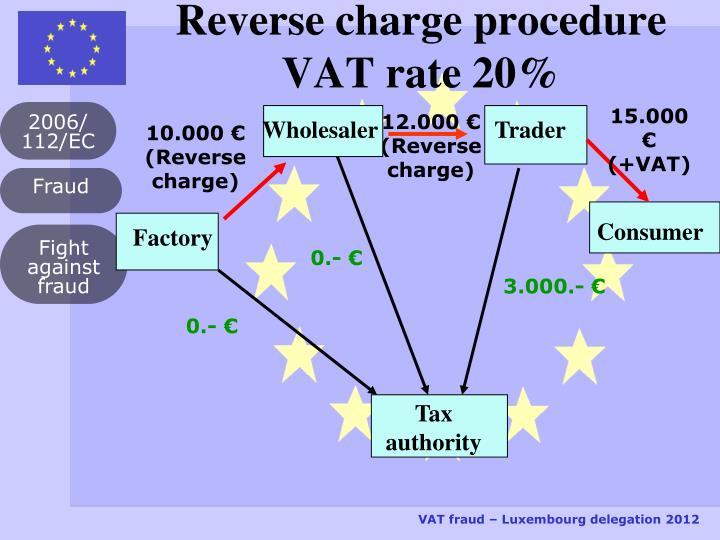PPT - VAT Fr... Reverse Charge Vat