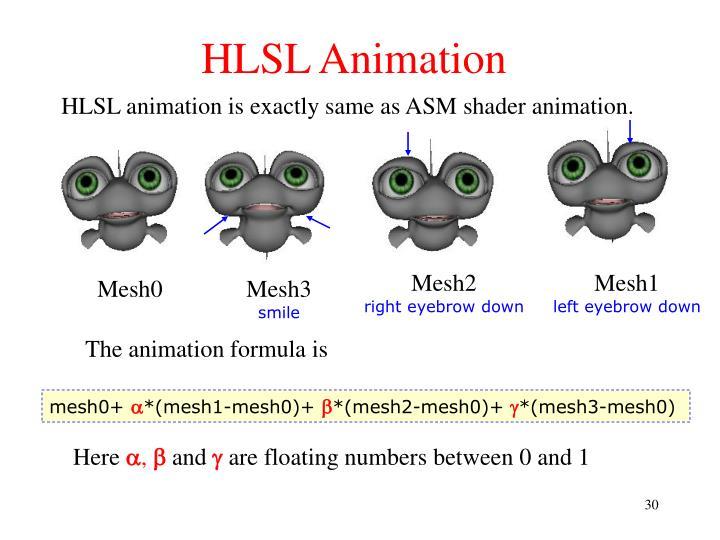 HLSL Animation